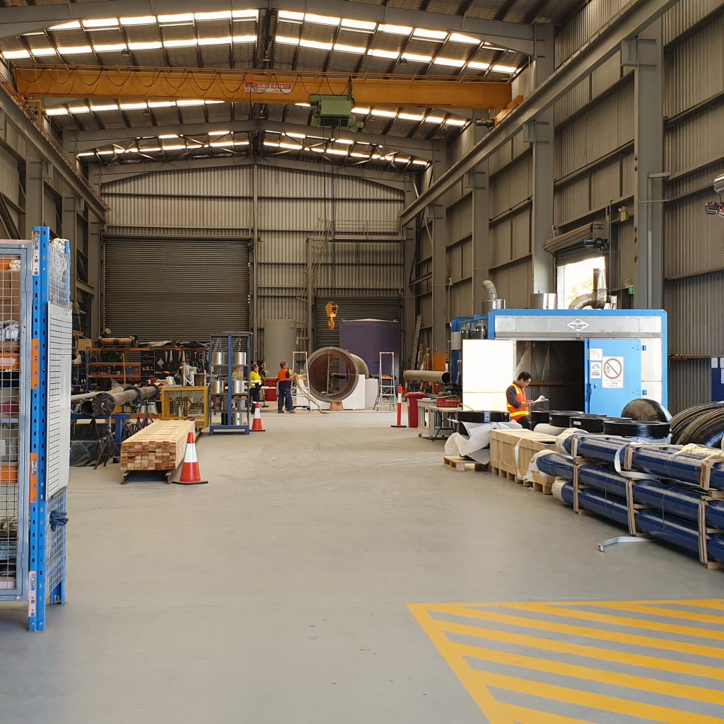 Basetec Services Factory Workshop