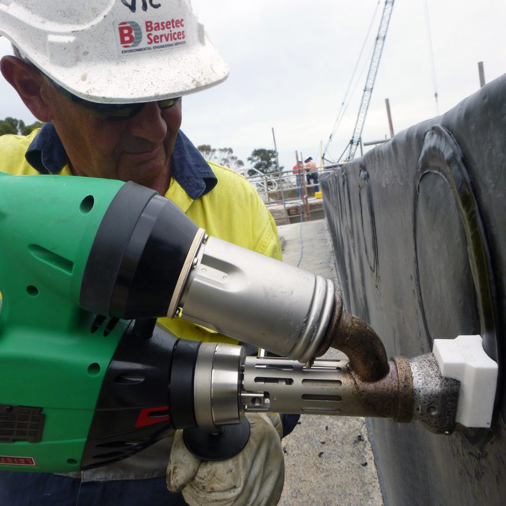Basetec Services lining installation