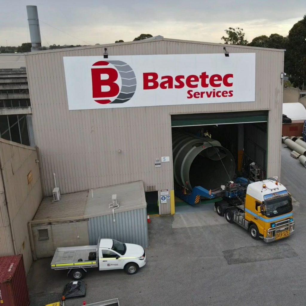 Basetec Warehouse manufacturing facilities
